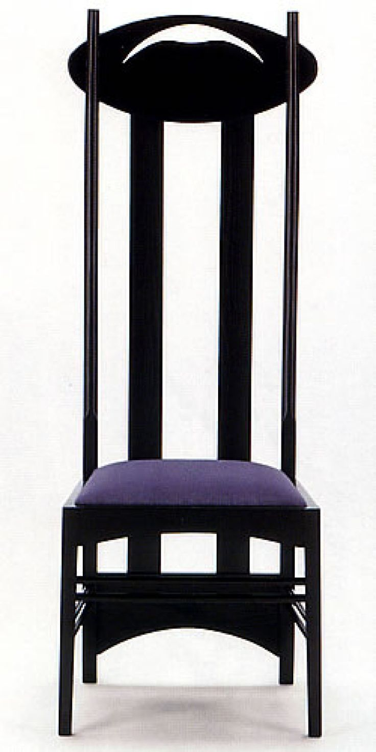 charles rennie macintosh | sedia bocca argyle CHARLES RENNIE MACKINTOSH