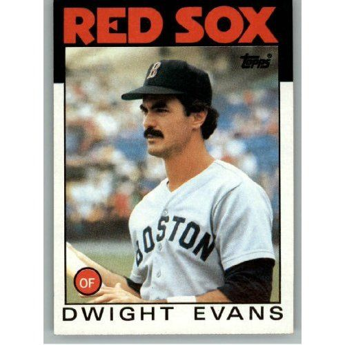 Dwight Evans... my all time favorite Red Sox Player......