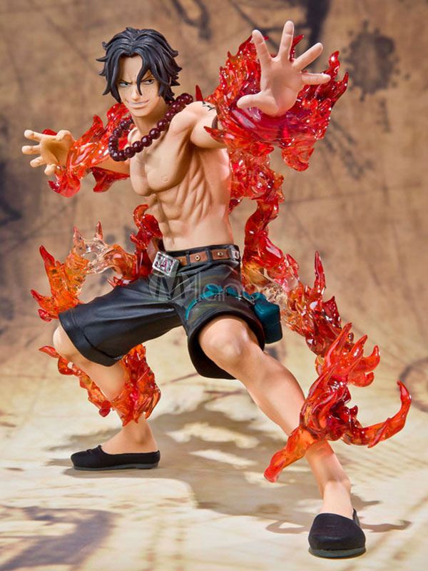 One Piece Portgas·D· Ace Anime Action Figure - Milanoo.com