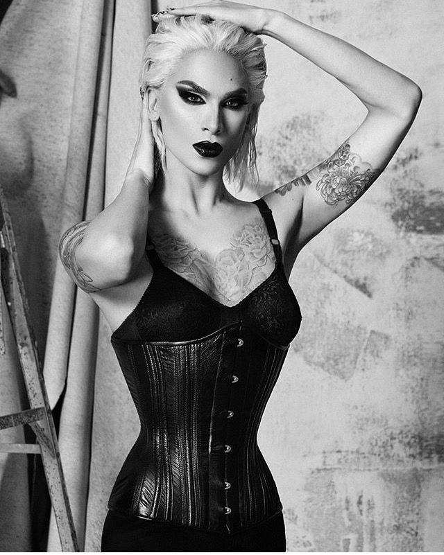 Miss Fame shot by Alex Evans for Dauphine magazine