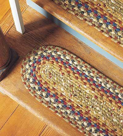 Braided Stair Treads