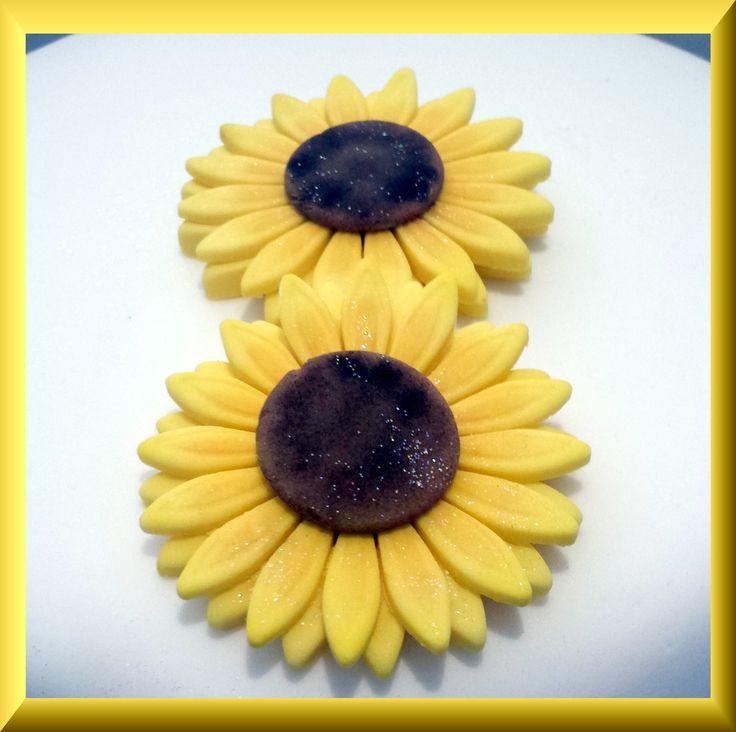 Sunflowers up-close