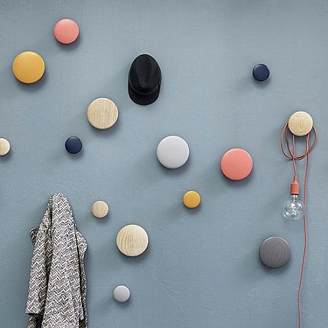 Muuto Coatrack Wall Dots : Huset Shop