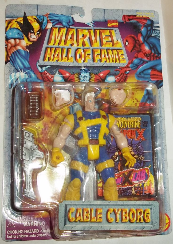 MARVEL hall of fame CABLE new moc Marvel, Action