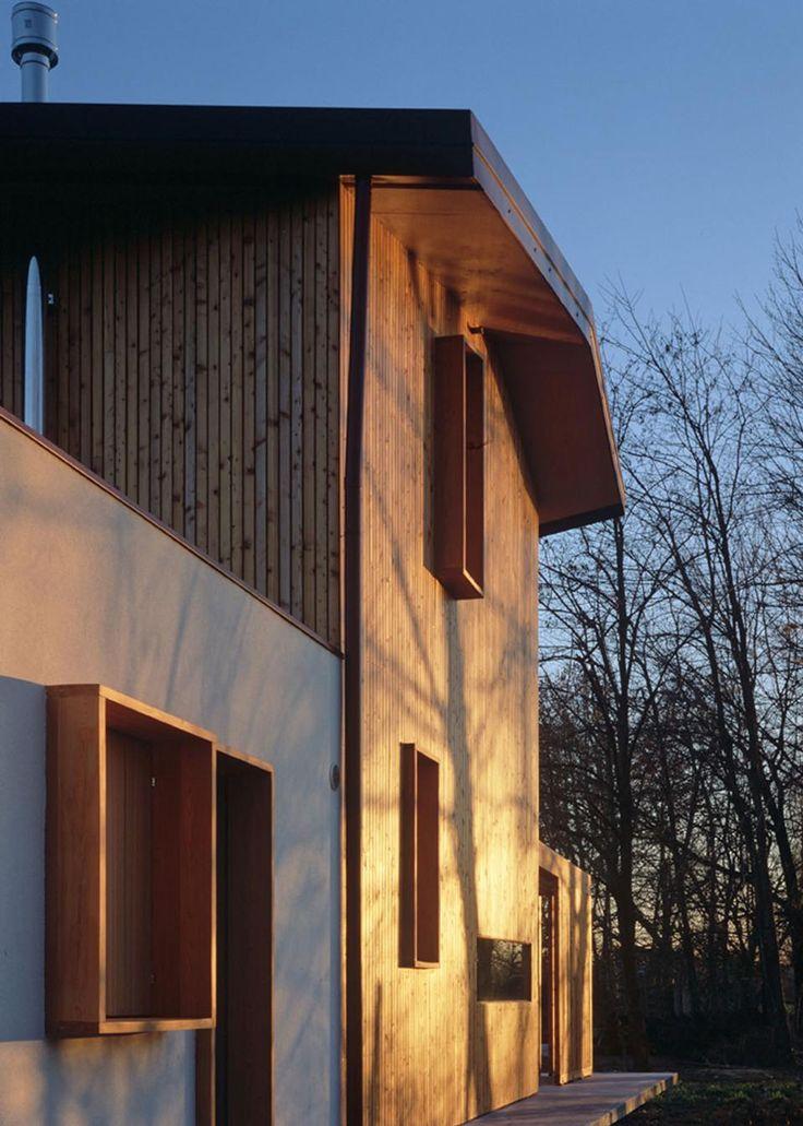 Arbau Studio: Ghaus, casa in legno a Spresiano (TV) - Architecture - Domus