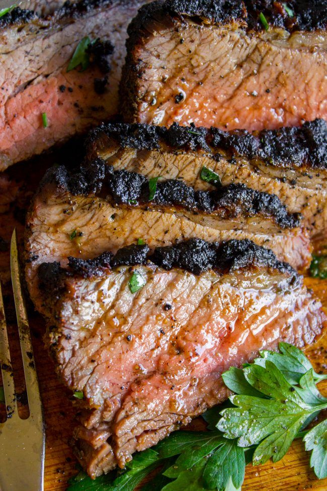 How To Cook Tri Tip Grilled Or Oven Roasted From The Food Charlatan If You Ve Never Had Tri Tip Oven Roasted Tri Tip Cooking Tri Tip Tri Tip Steak Recipes