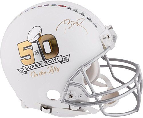Tom Brady New England Patriots Autographed Riddell On the Fifty Pro Line Authentic Helmet - TRISTAR - Fanatics Authentic Certified *** Be sure to check out this awesome product.