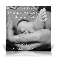 zwart wit geboortekaartje - Google zoeken