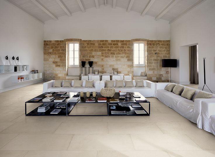 GLANCE OFF WHITE 45x90 LIVING area , floor , simple design .