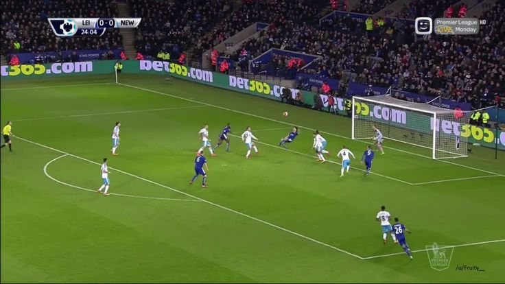 Okazaki goal vs Newcastle [1-0]|[14-03-2016] - Streamable