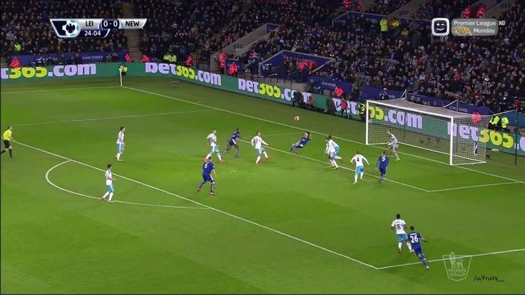 Okazaki goal vs Newcastle [1-0]|[14-03-2016]