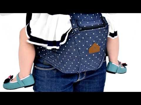 NEW!! i-angel hip seat baby carrier - the next generation of baby carrier - YouTube