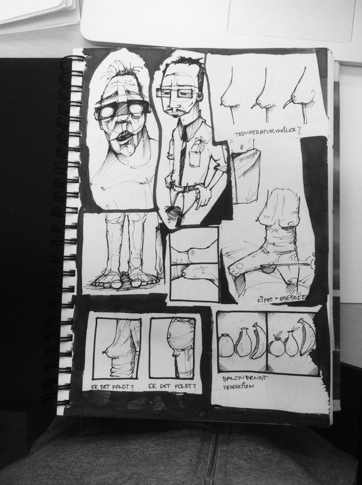 Ideas from my sketchbook with some other random sketches...
