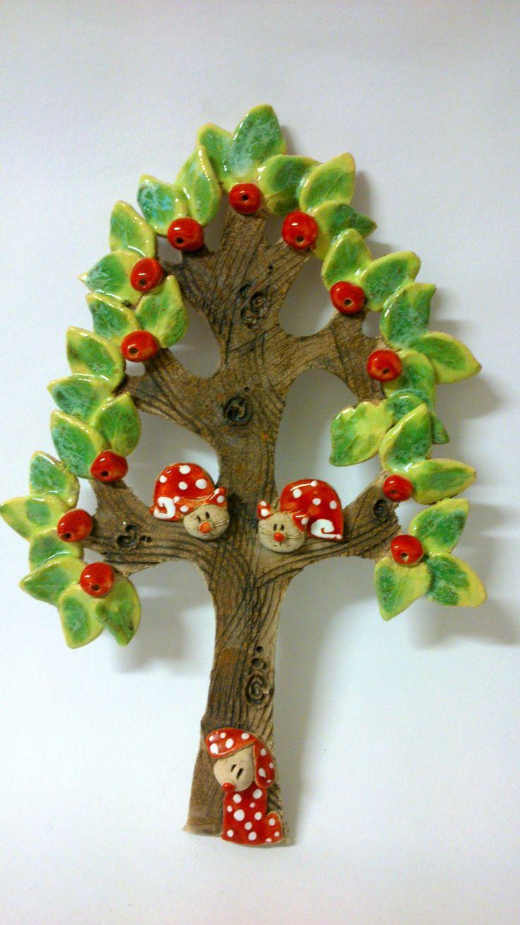 Na stromech se dějí věci! Obrázek- strom 29 cm vysoký
