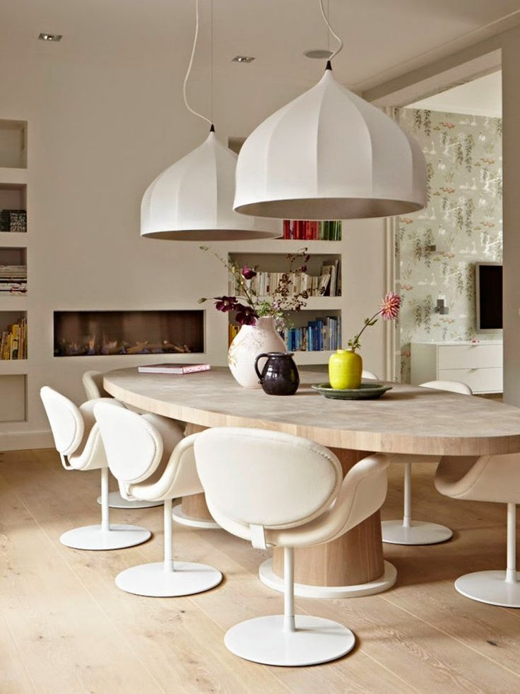 Moderne Eetkamer Set.How To Set A Dining Table And Decorate With Centerpieces Our