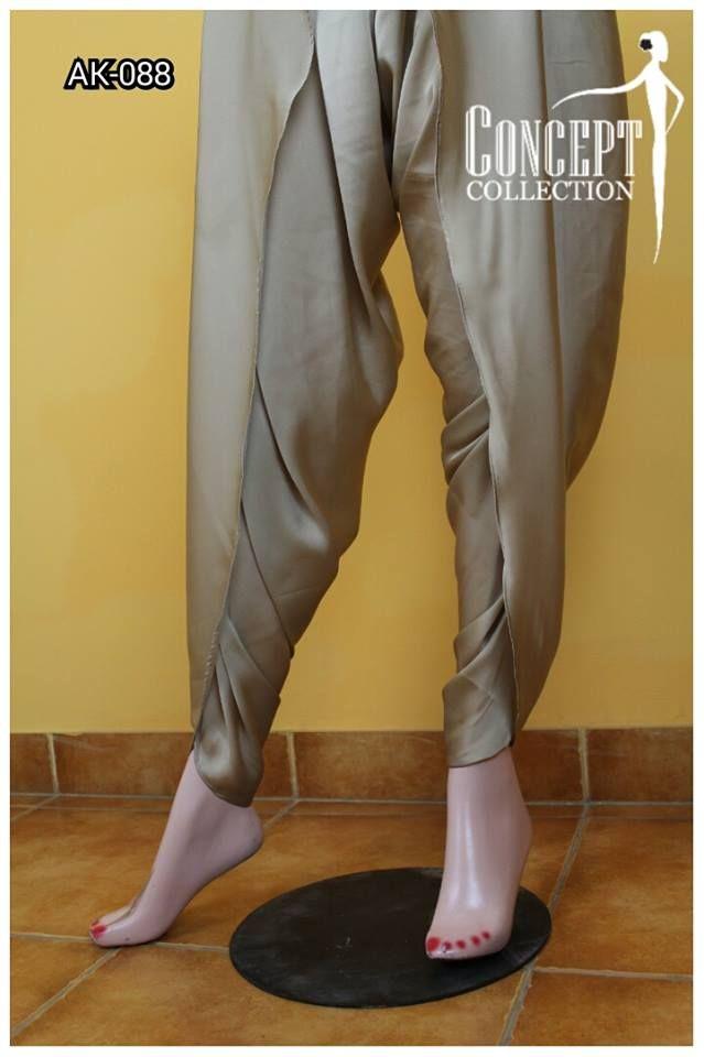 Latest Tulip Pants Trends 2016-17 Designs & Cutting Tutorial | StylesGap.com