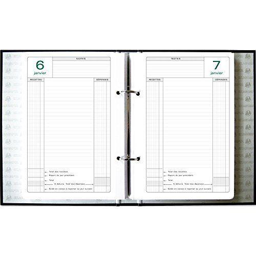 Exacompta – 38978E – Recharge mobiles pour perpétuel caisse perforée 24x16cm: EXACOMPTA recharge feuillets pour caisse perpétuel -38978…