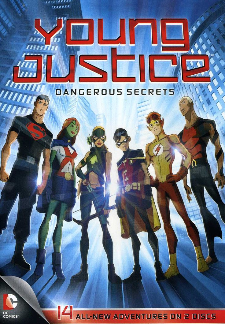 Dc Comics Young Justice Dangerous Secrets  Dc Comics -2289