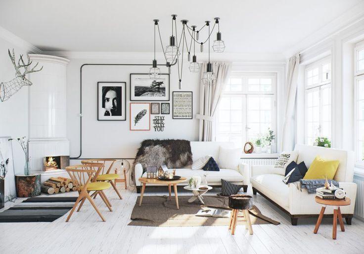 Scandinavian Apartment by Image Box Studios