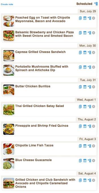 Weekly Meal Plan Featuring Closet Cooking | ZipList Blog