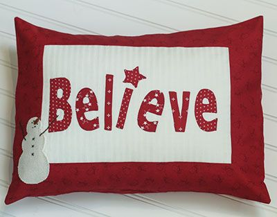 Featuring Winter Wonderland from Bunny Hill and Moda fabrics this pillow is perfect for Christmas decorating. It\u0027s a free pattern from Bunny Hill that I ...