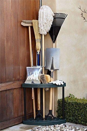 Furniture - Corner Garden Tool Rack - EziBuy New Zealand
