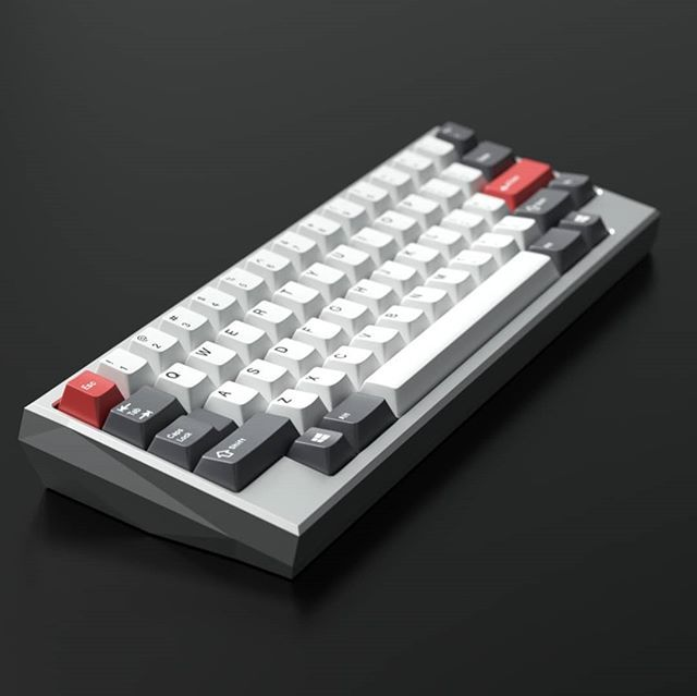 Ever Want A Kira60v2 One That Does A Hhkb Layout Check Out This Render By Thesiscamper Show Some Love If You Want To See Thi Keyboard Keyboards Desk Goals