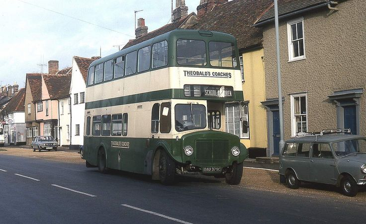 Theobalds double decker in Long Melford.