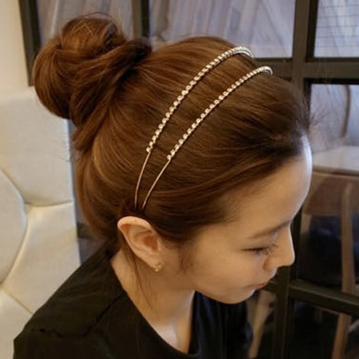 Hd Wallpapers Korean Hairstyle With Headband Android73d3