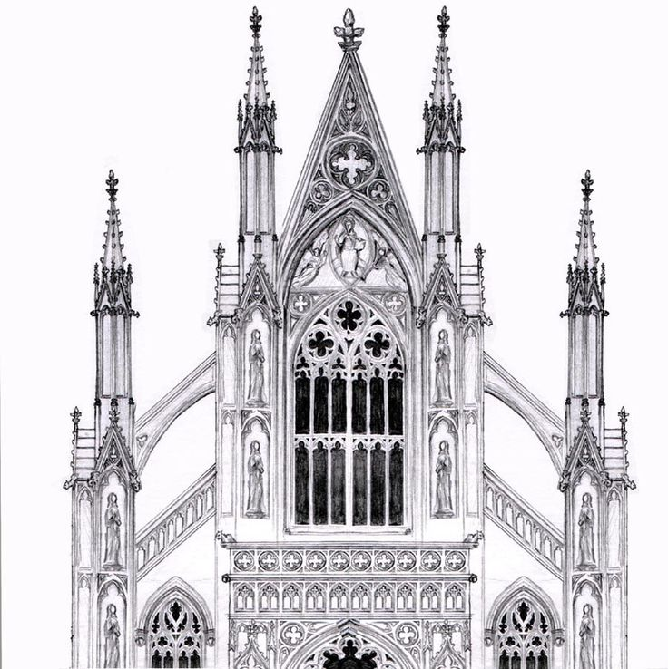 30 best images about GOTHIC ARCHITECTURE on Pinterest