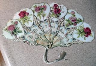 Vintage Victorian Fan