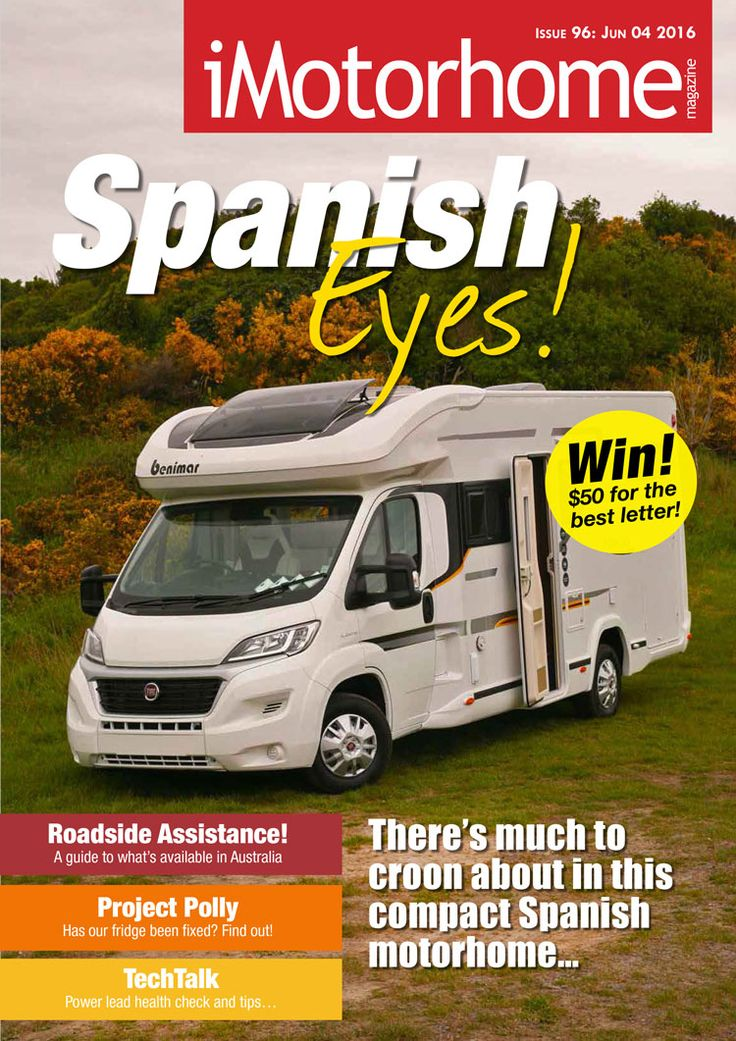 Issue 96 is now out. Download a free copy or read it online from our website www.imotorhome.com.au