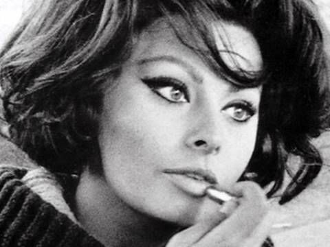 Bombshell Beauty : Sophia Loren Inspiration [eye make up tutorial]