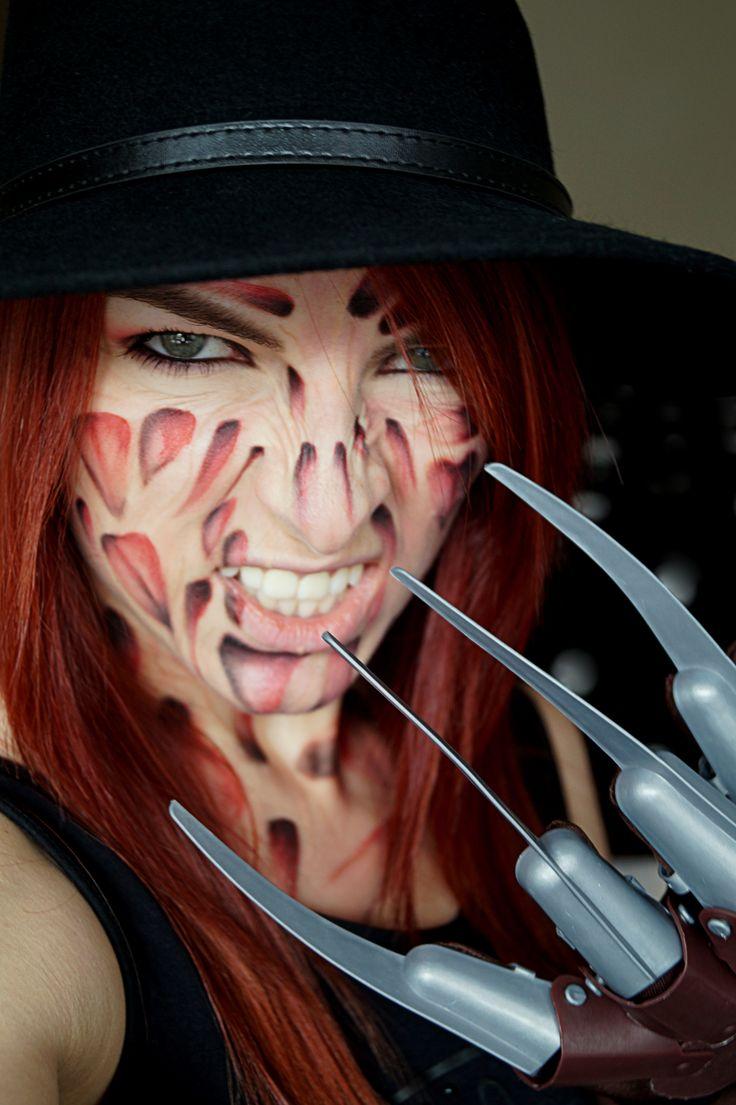 Freddy Krueger Makeup makeup fx