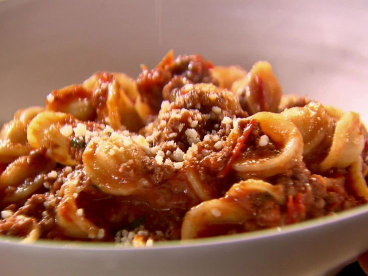 Get this all-star, easy-to-follow Weeknight Bolognese recipe from Ina Garten