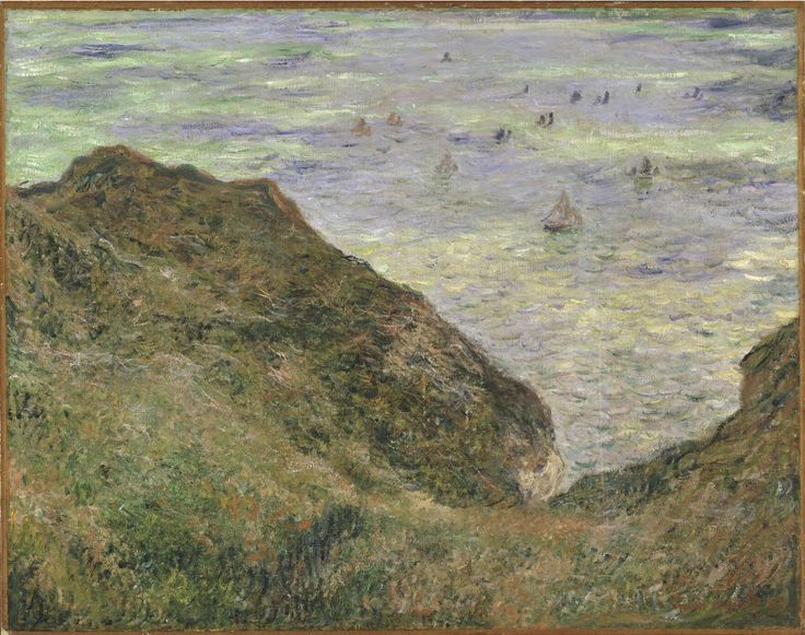 View over the Sea | Claude Monet | 1882 | Nationalmuseum, Sweden | Public Domain Marked