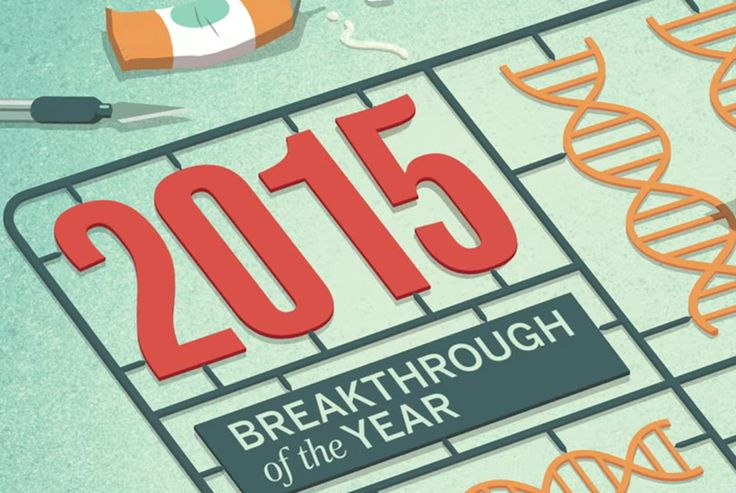 """Here are Science Magazine's picks for the coolest things that happened in science this year Science Magazine announced its top pick for """"breakthrough of the year"""" this week  and it's a great choice!CRISPR the gene-editing technique definitely dominated the news in 2015. For the uninitiated scientists use CRISPR to target and alter DNA segments with a high level of accuracy. Its very cool  and very controversial. So this year the biggest science story was accompanied by an intense debate over…"""