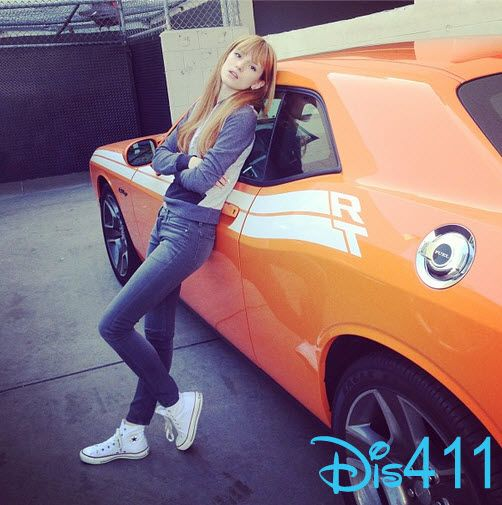bella thorne new instagram photos | bella thorne car march 14 Video: Bella Thorne With A Cool Car