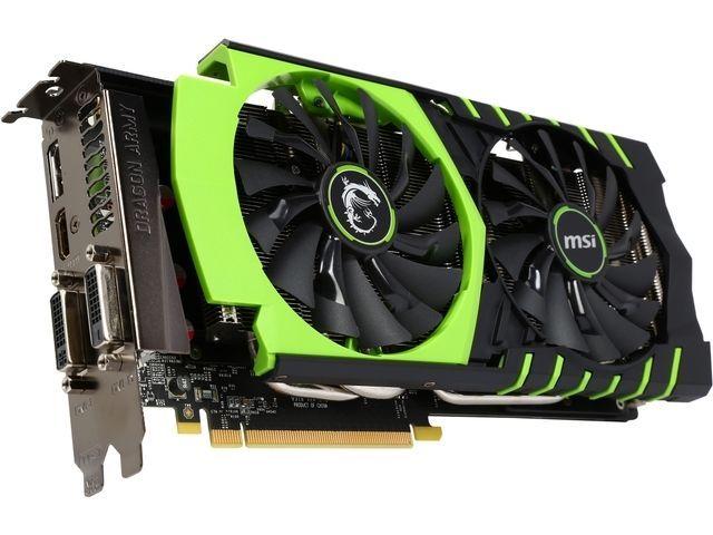 MSI GeForce GTX 970 GTX 970 GAMING 100ME 4GB 256-Bit GDDR5 PCI Express 3.0 x16 H #MSI