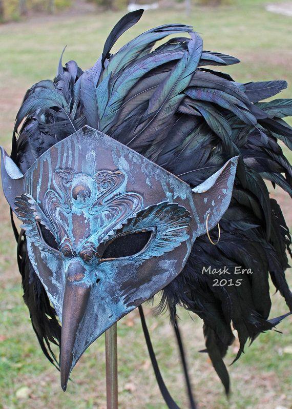 Hey, I found this really awesome Etsy listing at https://www.etsy.com/listing/259113275/tengu-handmade-leather-mask-masqurade