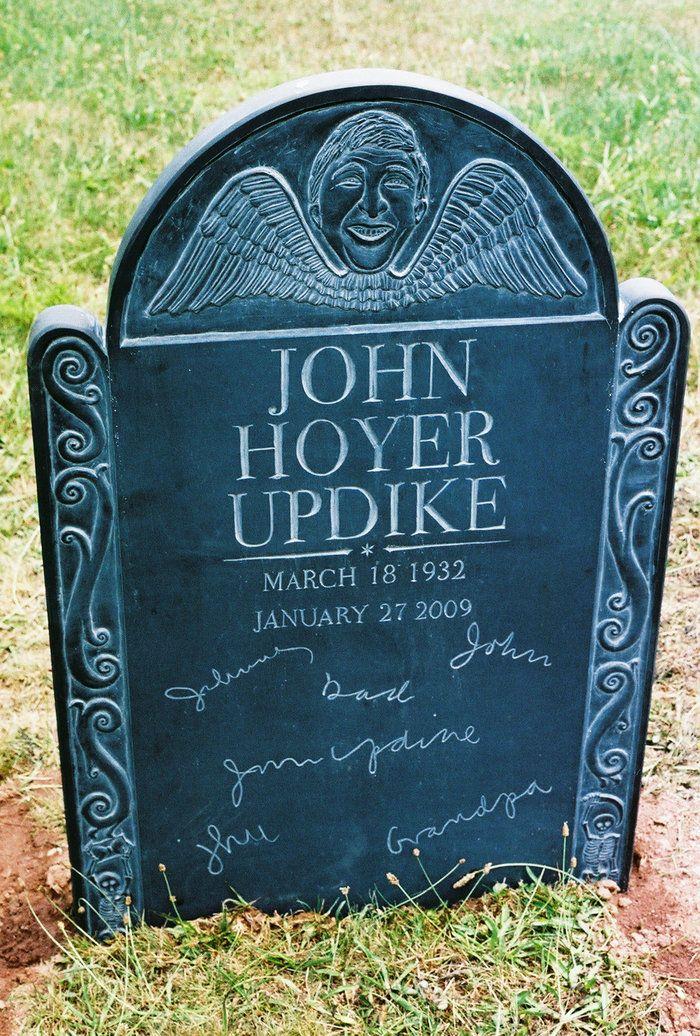 the a p john updikes a