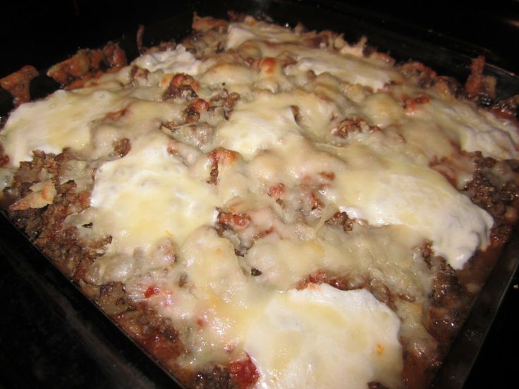 Cheesy Beef and Eggplant Casserole | Cooking With Carly | Pinterest