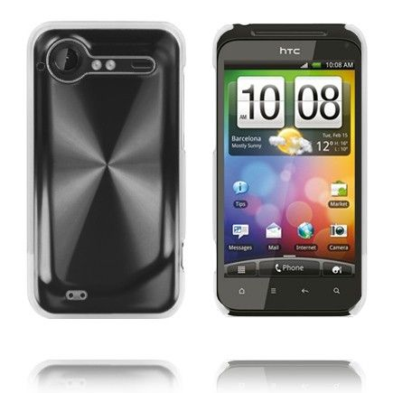 Aluminiums Shield (Sort) HTC Incredible S Cover