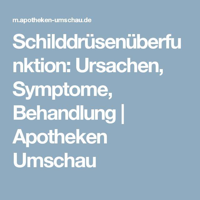 Schilddrüsenüberfunktion: Ursachen, Symptome, Behandlung | Apotheken Umschau