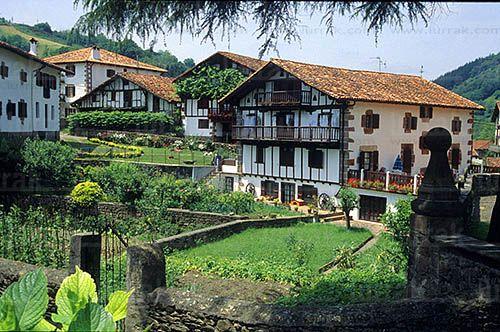 Caseríos, Etxalar, Navarra