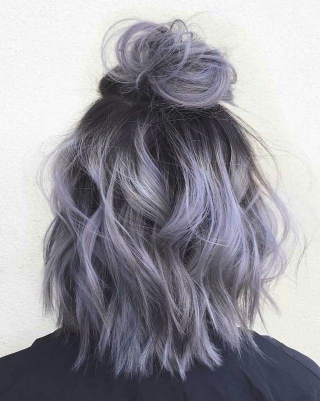26 Superb Silver Gray Ombre For Short Hair Hair Styles Silver Ombre Hair Silver Hair Color