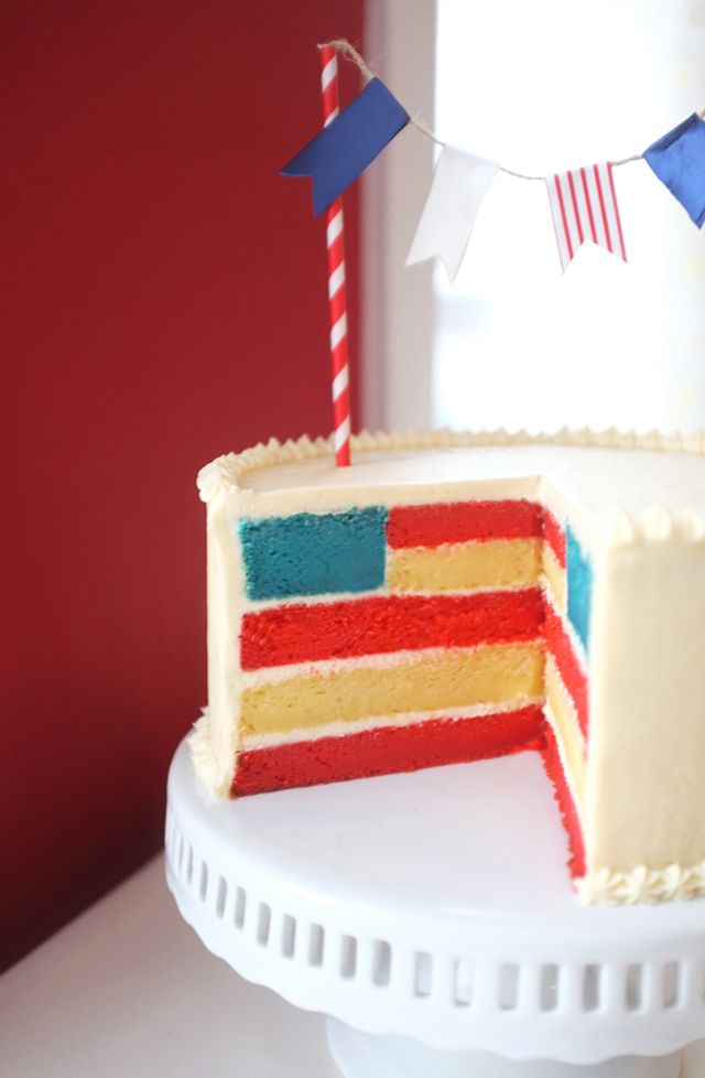 512 best nautical party ideas images on pinterest for American flag cake decoration