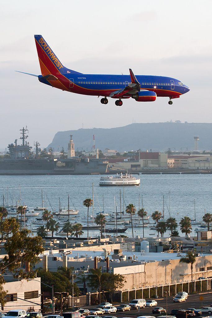 Southwest Airlines Boeing 7377H4 (N467WN) San Diego