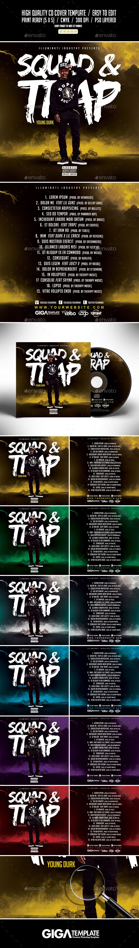 17 best ideas about Cd Cover Template – Psd Album Cover Template