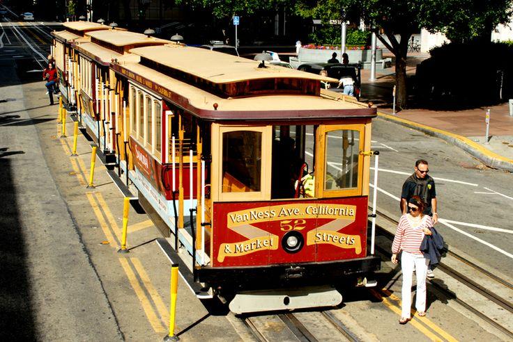 Straßenbahn in San Francisco